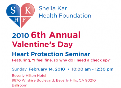 sheila%20kar I Am Speaking at the Sheila Kar Health Foundation on Feb 14