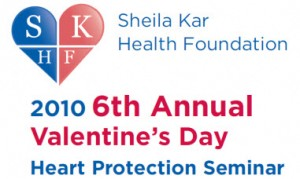 sheilakar 300x179 Update from the 6th Annual Sheila Kar Health Foundation Heart Protection Seminar