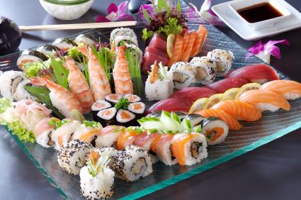 sushi mercury fish